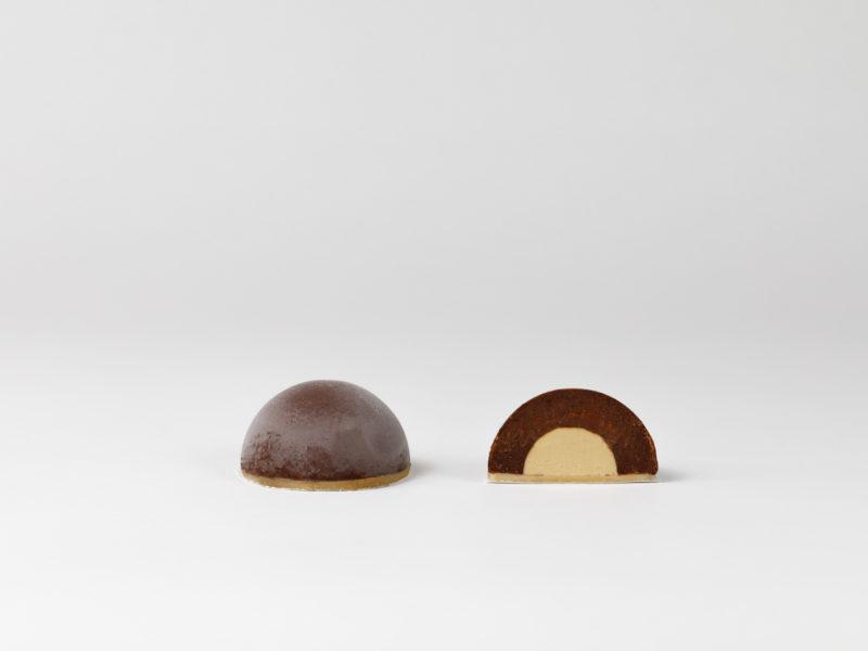 Amadeus - das vegane Eistörtchen von N'Eis mit Schokolade, Pistazie und Marzipan