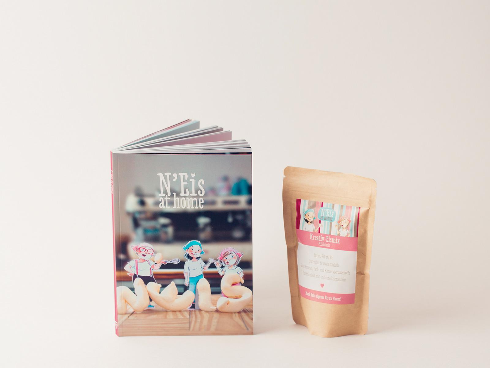 N'Eis at home Rezeptbuch - Ein Produkt aus dem Webshop von N'Eis - Das Neustadteis