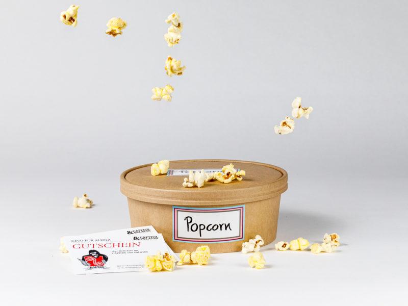 N'Eis-Heimkinoset mit Popcorneis und Kinogutscheinen im N'Eis Lieferservice