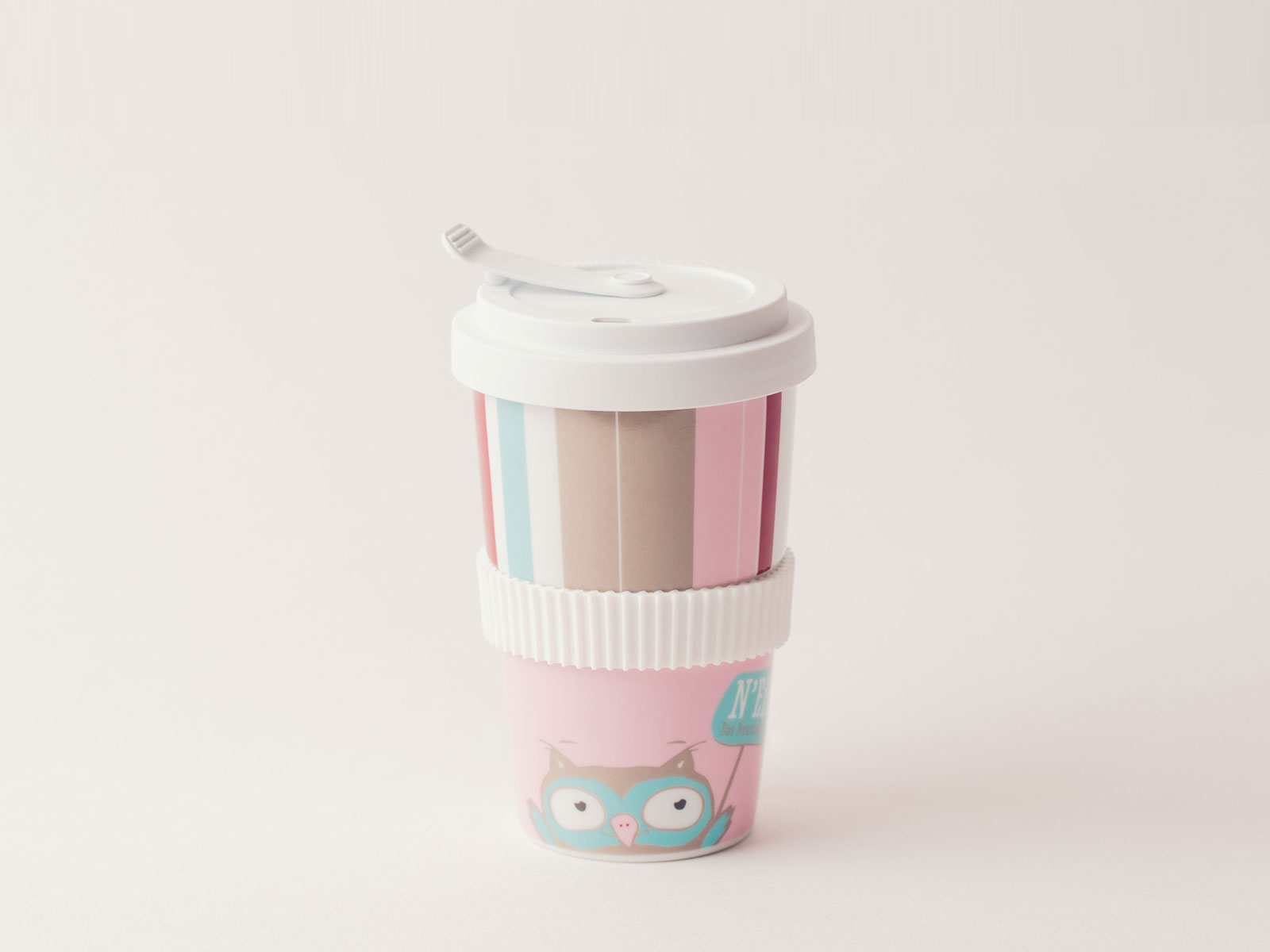 Porzellanbecher - Ein Produkt aus dem Webshop von N'Eis - Das Neustadteis