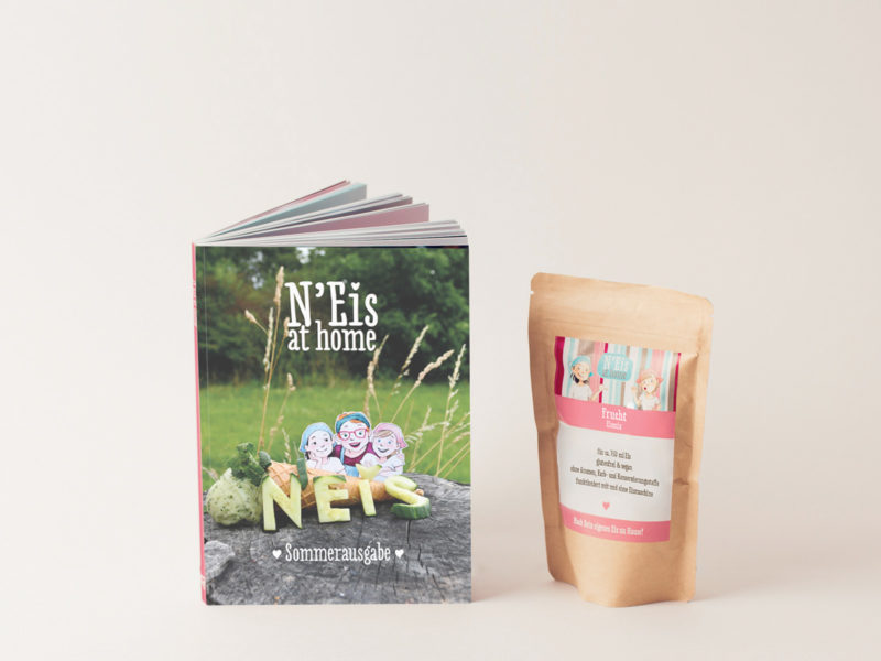 N'Eis at home Sommer Rezeptbuch - Ein Produkt aus dem N'Eis-Webshop